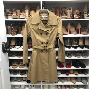 JustFab Trench Coat Size Small